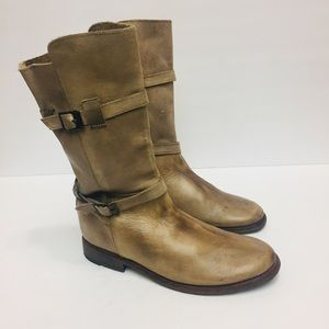 Bed Stu Sand Over Mid Boots. Size 7